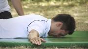 Avion – leđa – Vježbe rehabilitcije
