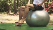 Balansiranje na lopti – Vježbe rehabilitacije