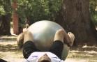 Jačanje trbušnih mišića sa loptom – Vježbe rehabilitacije