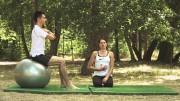 Primjena vježbe za teže vježbe na lopti – Vježbe rehabilitacije