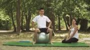 Vježbe ravnoteže na lopti – Vježbe rehabilitacije